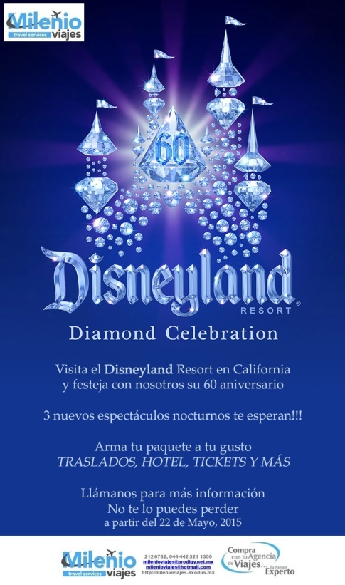 60 ANIVERSARIO WALT DISNEY WORLD