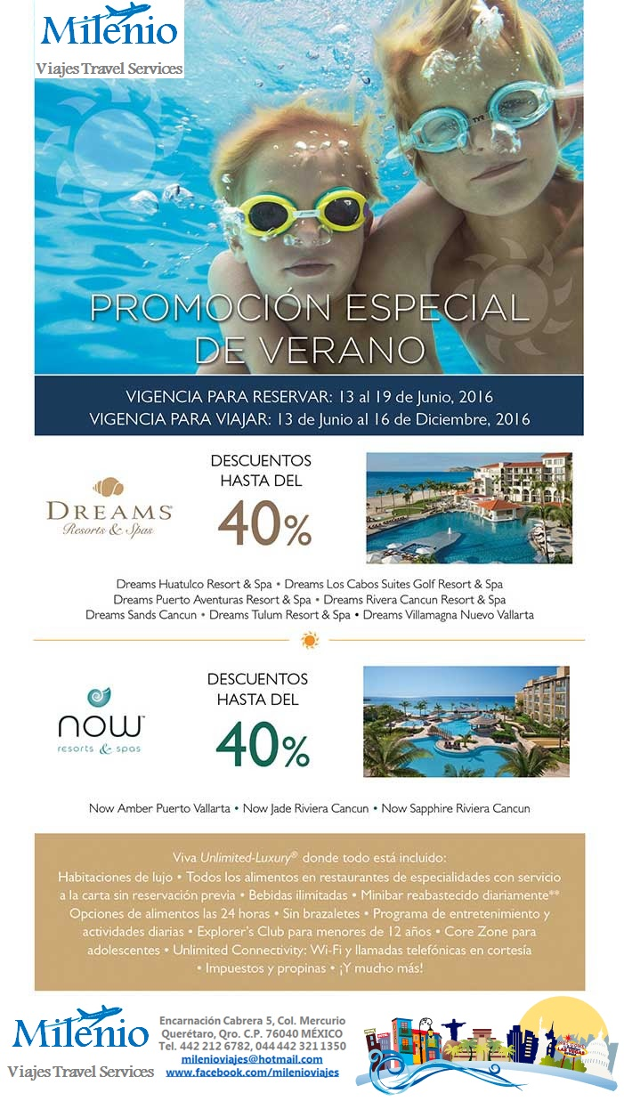 AM RESORTS PROMO VERANO 2016