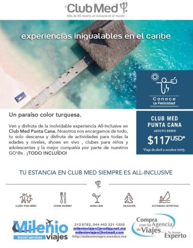 Ven y disfruta la mejor experiencia All inclusive en el caribe en Club Med Punta Cana
