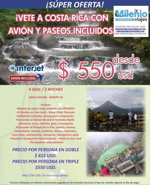 COSTA RICA PROMOCION GRUPO TRAVEL INV 2015