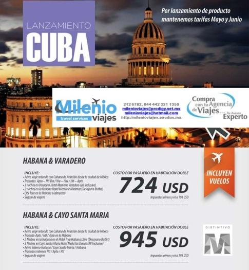 CUBA MAYO - JUNIO 2015 - MVPT