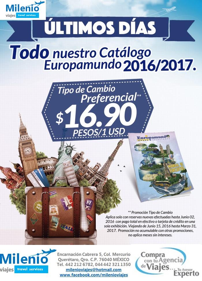 EUROPAMUNDO TIPO CAMBIO PREF