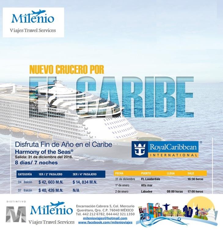 FIN DE AÑO EN EL CARIBE CON RC - MVTLS