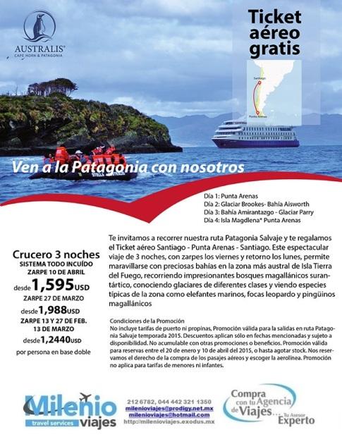 PATAGONIA - INV 2015 - DE MEX AL MUNDO