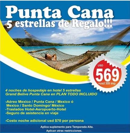 PUNTA CANA DE REGALO - MVPE