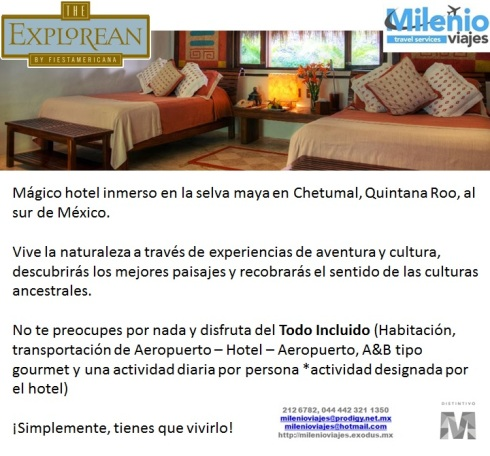 THE EXPLOREAN KOHUNLICH BY FIESTA AMERICANA - CHETUMAL