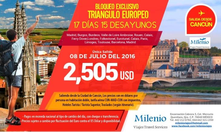 TRIANGULO EUROPEO BLOQUEO 8 JUL 2016 -MVOLR