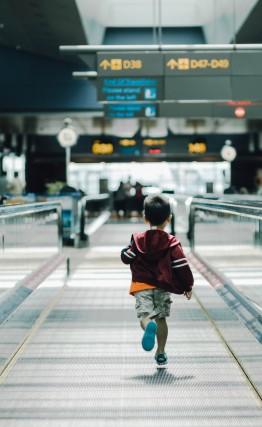 antiicipacion para un vuelo