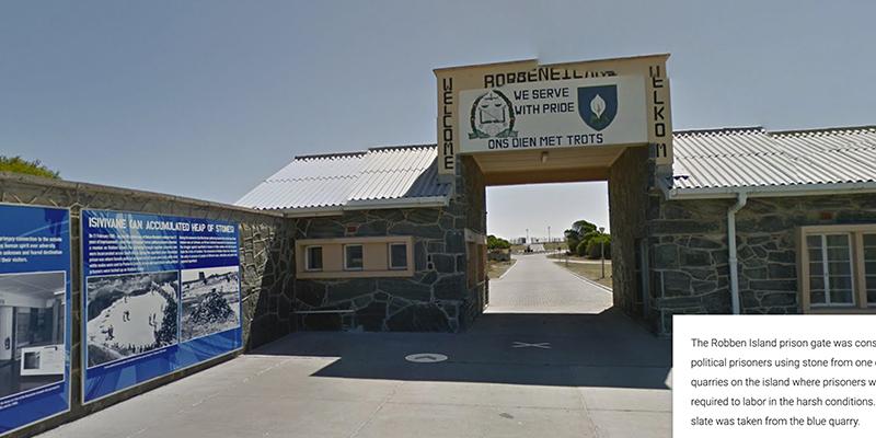 robben island prison, sudáfrica